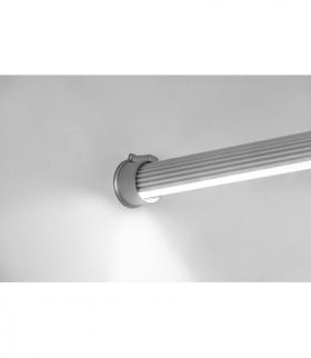 profil aluminiowy LED drążek GLAX silver 2 m