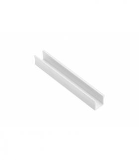 Profil aluminiowy LED nakładany GLAX Mini wysoki 14mm biały 2 m