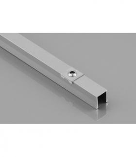 Profil aluminiowy LED nakładany GLAX Mini wysoki 14mm silver 2 m