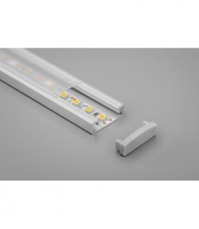 profil aluminiowy LED nakładany GLAX silver 2 m