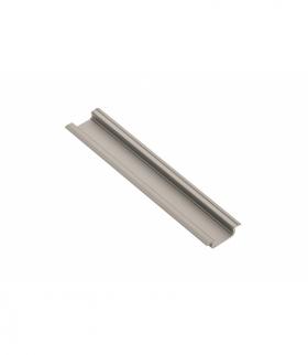 Profil aluminiowy LED z kołnierzem GLAX champagne 2 m (wpuszczany)