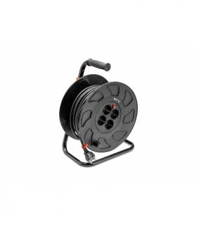Przedłużacz bębnowy 3x1,5mm2, 50m, 4x schuko