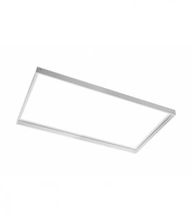 Rama do montażu natynkowego paneli LED 30x60cm (TYPU KING, PRINCE, INNOVO), biała