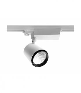 Reflektor LED COB X-LINE do szynoprzewodu, 15W, 1094lm, AC 220-240V, 50/60Hz, kąt świecenia 24*, IP2