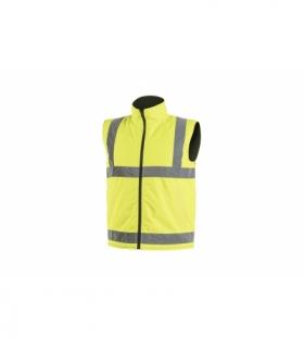 REMS kamizelka ostrzegawcza dwustronna żółty XL