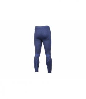 SIEG spodnie bezszwowe termiczne niebieski M-L