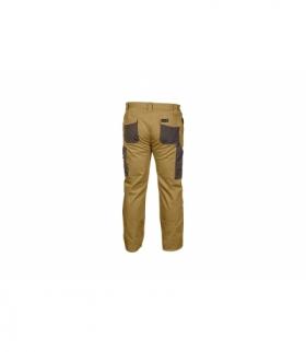 Spodnie ochronne bez szelek beżowe, 2XL