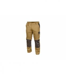 Spodnie ochronne bez szelek beżowe, XL