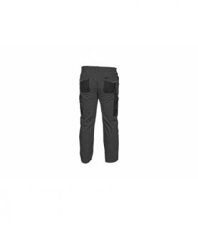Spodnie ochronne bez szelek szare, 2XL
