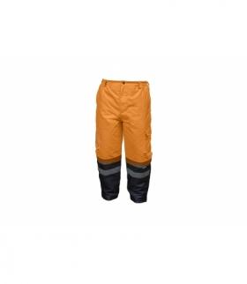 Spodnie ochronne ostrzegawcze pomarańczowe XL