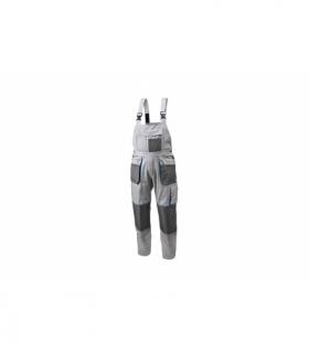 Spodnie ochronne z szelkami bawełna 100%, 240g/m, M
