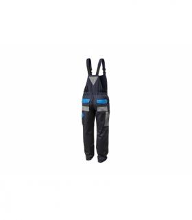 Spodnie ochronne z szelkami bawełna 20%, poliester 80%, 190g/m, 3XL