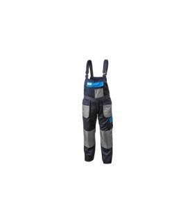 Spodnie ochronne z szelkami bawełna 20%, poliester 80%, 190g/m, M
