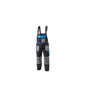 Spodnie ochronne z szelkami bawełna 20%, poliester 80%, 190g/m, XL