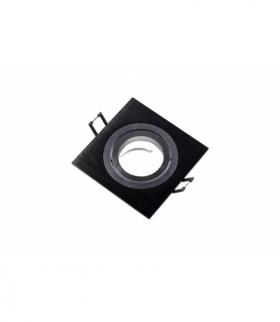 Sufitowa oprawa punktowa MORENA, IP20, kwadrat, czarna
