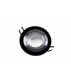 Sufitowa oprawa punktowa MORENA, IP20, okrągła, czarna