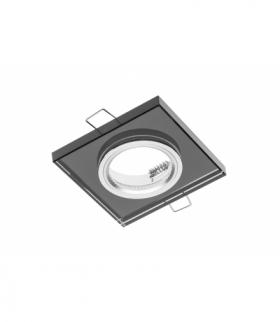 Sufitowa oprawa punktowa PALACE II, IP20, kwadrat, czarna