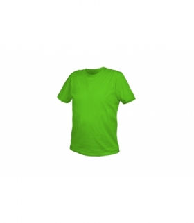 T-shirt bawełniany, zielony, L
