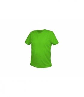 T-shirt bawełniany, zielony, XL