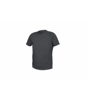 T-shirt poliestrowy, grafitowy, 2XL
