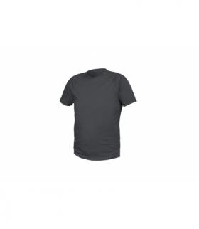 T-shirt poliestrowy, grafitowy, M