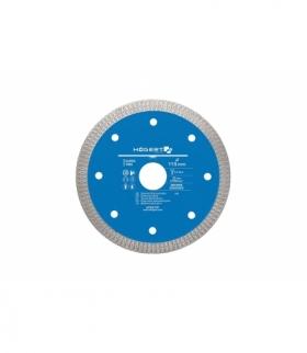 Tarcza diamentowa 115 mm, do cięcia i fazowania płytek ceramicznych, terakoty, glazury, gresu porcelanowego, granitu HT6D721