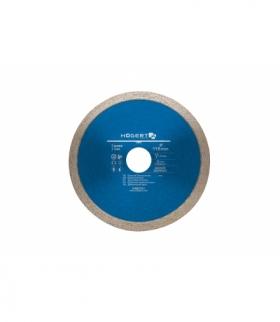 Tarcza diamentowa ciągła 115 mm do glazury, terakoty, płytek ceramicznych, marmuru i porcelany HT6D701