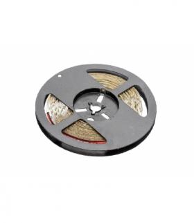 Taśma Flash 2835, 300 LED ciepły biały, 30W, wodoodporna 8mm, Rolka 5m, 12V
