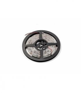 Taśma Flash 2835, 300 LED neutralny biały 4000K, 33W, wodoodporna 8mm, Rolka 5m, 12V