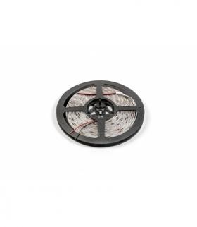 Taśma Flash 2835, 300 LED zimny biały, 33W, wodoodporna 8mm, Rolka 5m, 12V