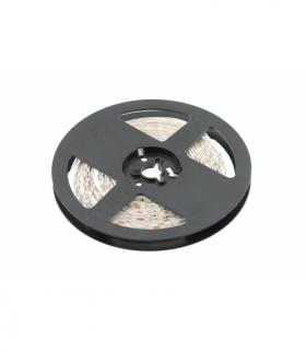 Taśma Flash 2835, 600 LED ciepły biały, 33W, bez żelu PCB 5mm, Rolka 5m, 12V