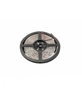 Taśma Flash 2835, 600 LED ciepły biały, 60W, wodoodporna 10mm, Rolka 5m, 12V (2 kable)