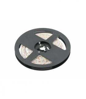 Taśma Flash 2835, 600 LED zimny biały, 33W, bez żelu PCB 5mm, Rolka 5m, 12V
