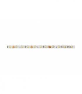 Taśma Flash 3528, 300 LED ciepły biały, 24W, bez żelu 8mm, Rolka 5m, 12V