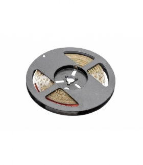 Taśma Flash 5050, 300 LED zimny biały, 72W, bez żelu 10mm, Rolka 5m, 12V