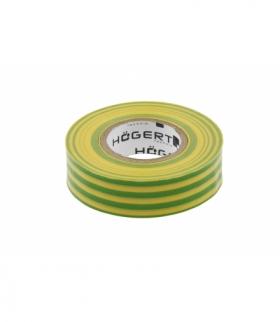 Taśma izolacyjna PVC, żółto-zielona