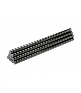 Wkłady klejowe 250 mm, średnica 11,2 mm, kolor czarny