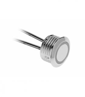 Włącznik dotykowy ściemnialny 12V DC, max.20W, przewód 1500mm, chrom