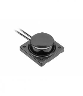 Włącznik, regulator barwy światła (ciepły-zimny), czarny