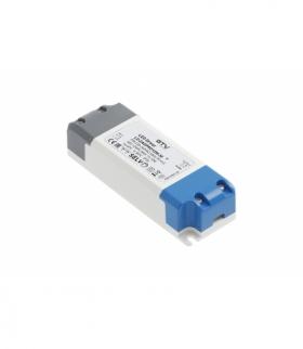 Zasilacz LED PRO 12V, 12W, input 220-240VAC, IP20, wym.120x42x27 mm