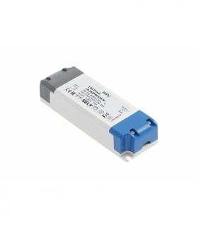 Zasilacz LED PRO 12V, 33W, input 220-240VAC, IP20, wym.140x47x29 mm