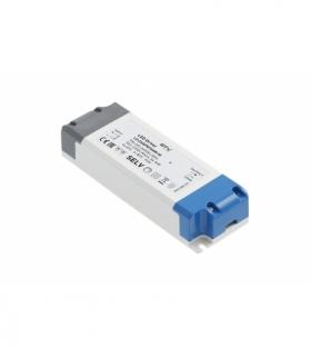 Zasilacz LED PRO 12V, 54W, input 220-240VAC, IP20, wym. 155x53x30 mm