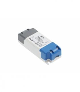 Zasilacz LED PRO 12V, 7W, input 220-240VAC, IP20, wym.100x39x25 mm