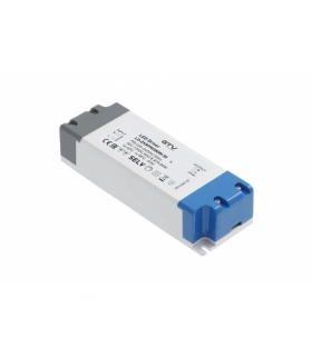 Zasilacz LED PRO 12V, 80W, input 220-240VAC, IP20, wym.181x63x40 mm