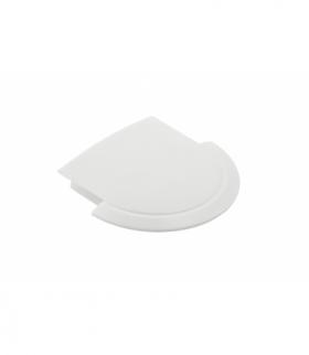 Zaślepka do profila LED GLAX biała (10 szt. w blistrze)