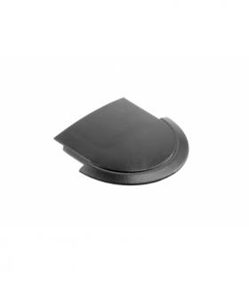 Zaślepka do profila LED GLAX czarna (10 szt. w blistrze)