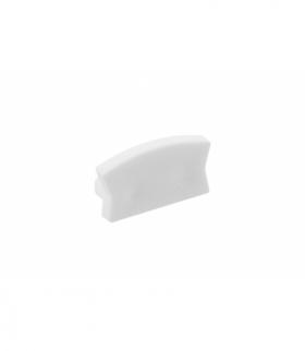 Zaślepka do profila LED GLAX Mini nakładany biała ( 10 szt. w blistrze)
