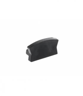 Zaślepka do profila LED GLAX Mini nakładany czarna ( 10 szt. w blistrze)