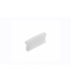 Zaślepka do profila LED GLAX Mini nakładany srebrna ( 10 szt. w blistrze)