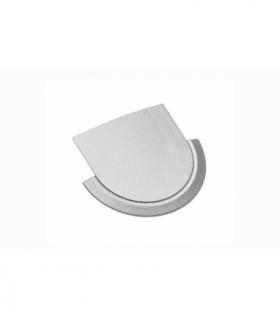 Zaślepka do profila LED GLAX srebrna (10 szt. w blistrze)